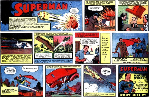 Man Of Steel Comic